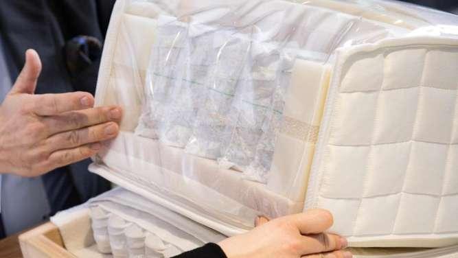seltenes ergebnis beim matratzen test wohnen. Black Bedroom Furniture Sets. Home Design Ideas