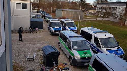 Razzia in Bad Aibling: