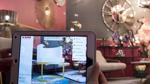 Augmented Reality holt virtuelle Sofas ins Zimmer