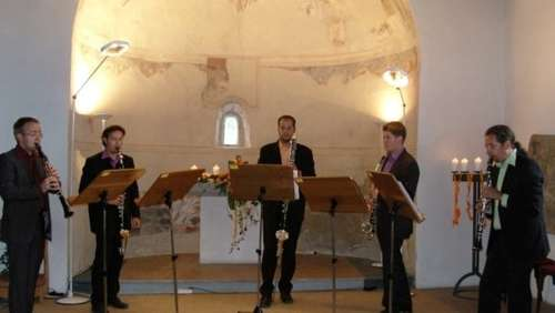 Konzert der Working Clarinets in Schleching