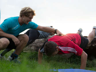 Outdoor-Training mit Original Bootcamp