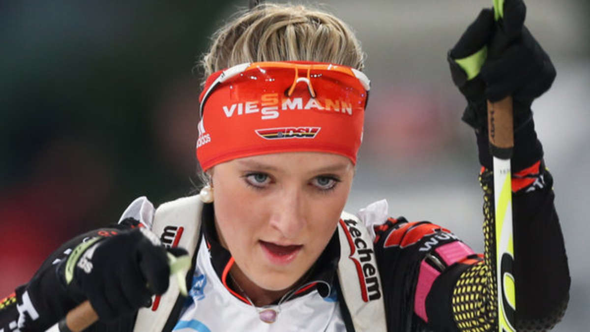 Biathlon Gestern Damen