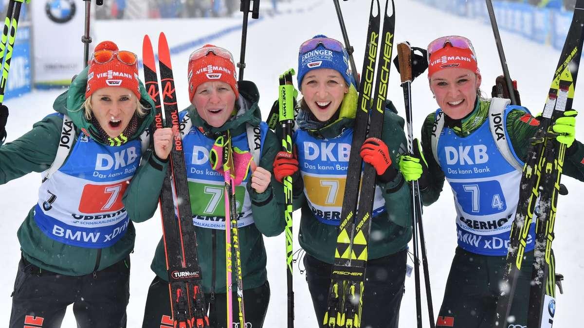 Ergebnis Biathlon Damen Heute