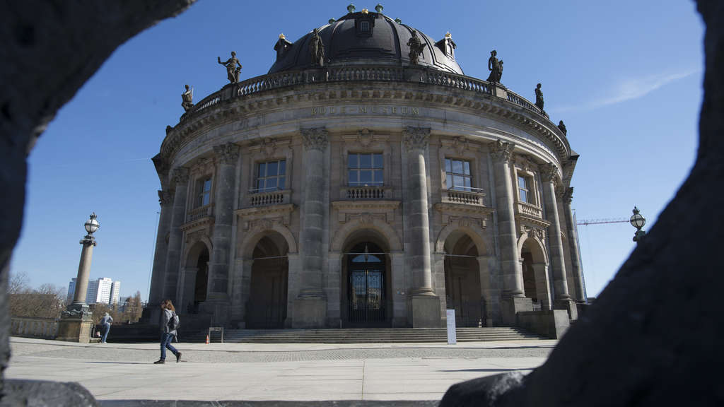 Tatort: Bode Museum in Berlin.