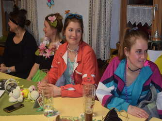 Fasching in Grassach bei Tittmoning (1)