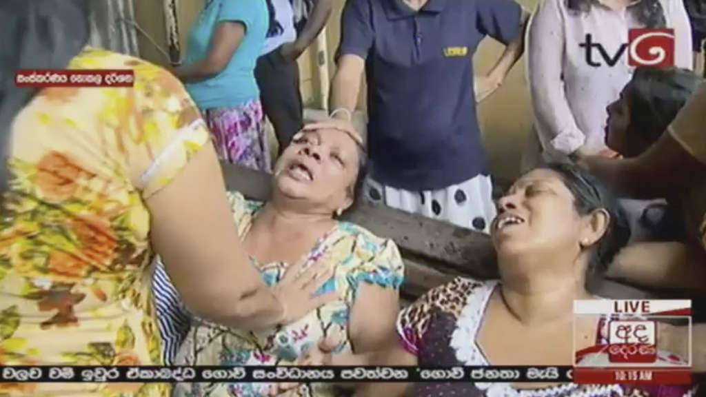 Explosionen in Sri Lanka