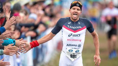 Perfekter Start: Triathlon-Star Frodeno siegt in Buschhütten