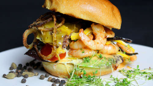 Der Surf and Turf Burger