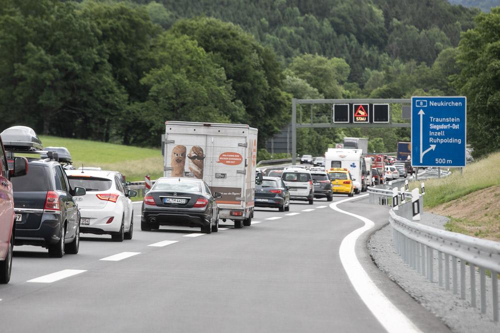 Verkehr A93 Aktuell