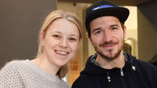 Miriam und Felix Neureuther