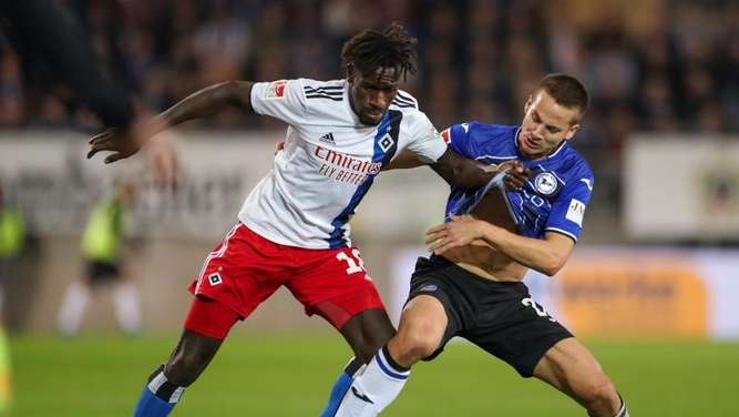 Gambias Nationaltrainer Saintfiet kämpft um HSV-Profi Jatta