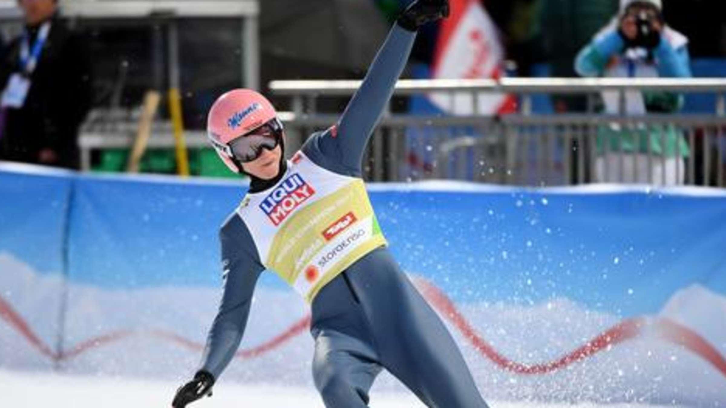 wer hat heute das skispringen gewonnen