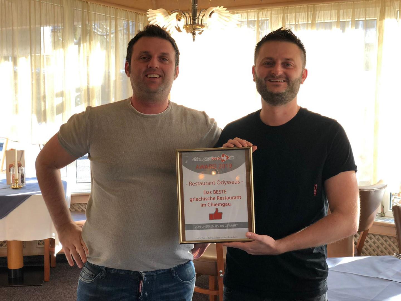 Traunstein: Die Gewinner der chiemgausbeste.de Award 2019