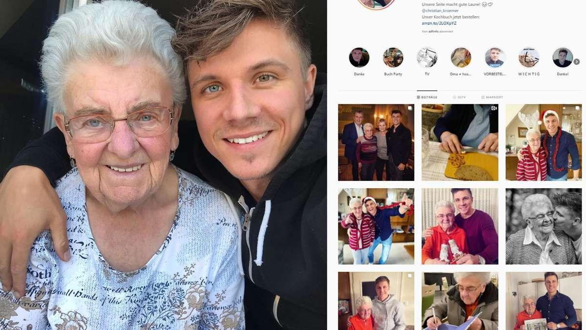 Oma Treibt Es Mit Enkel