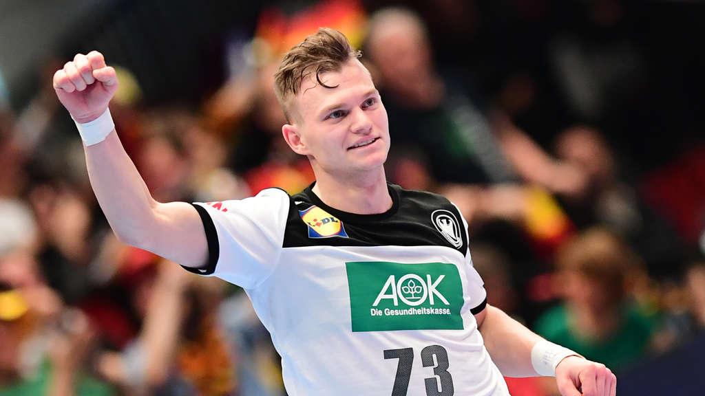 Deutschland Bei Handball Em 2020 Dhb Team Feiert Mit