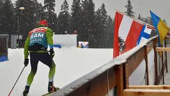 Biathlon-Weltcup 2020 in Ruhpolding am 18. Januar