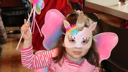Kinderfasching in der Festhalle Hohenaschau
