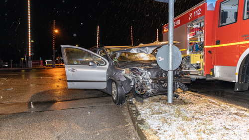 Unfall in St.Georgen am 29. Januar