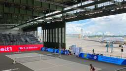 Tennis in Berlin: Aus dem Grunewald in den Hangar 6