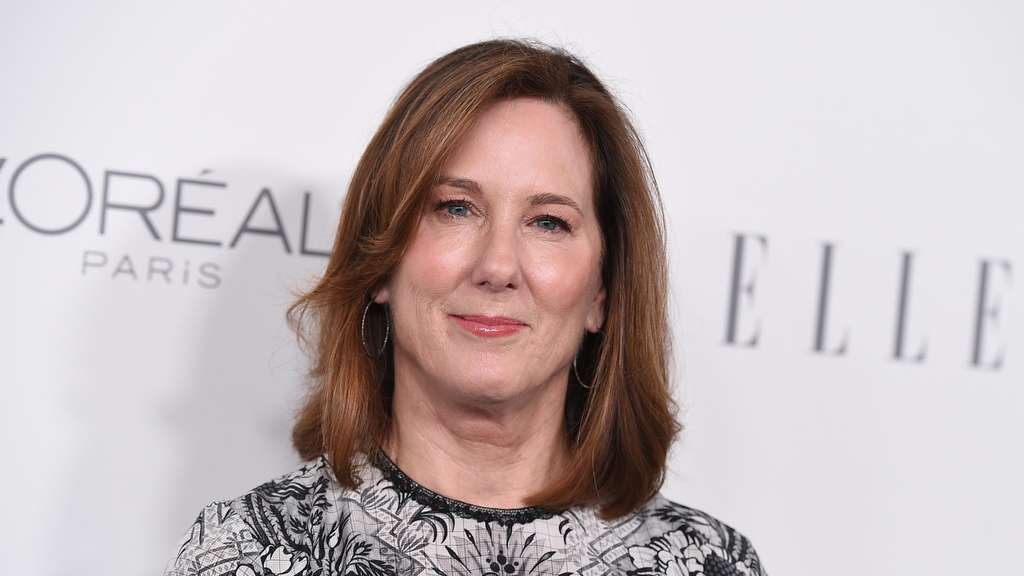 Die US-amerikanische Produzentin Kathleen Kennedy kommt zu den 24. ELLE Women in Hollywood Awards.