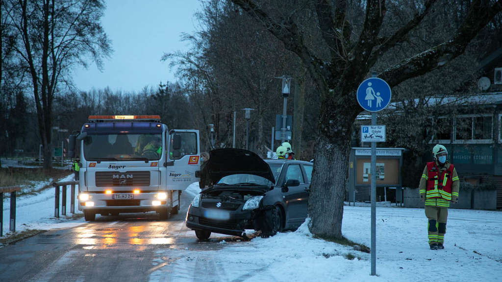 Unfall bei Waging am See